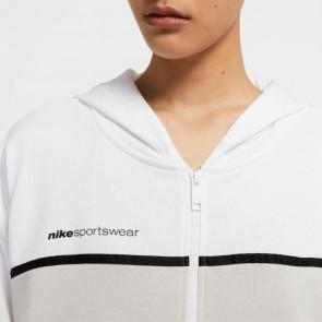 Nike Sportswear WMNS Full-Zip Hoodie ''White/Light Bone''