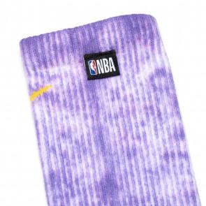 Nike NBA Everyday Plus Cushioned Socks ''White/Fierce Purple''