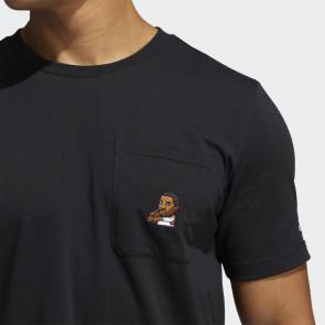 adidas Dame Avatar Pocket T-Shirt ''Black''