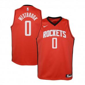 Nike Houston Rockets Russel Westbrook Swingman Jersey ''University Red''