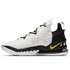 Nike Lebron 18 ''White/Amarillo Black''